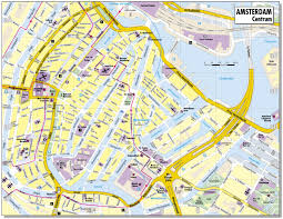 Map Of Holland City Map Of Amsterdam Netherlands Map Of Amsterdam City Maps Of
