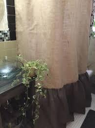 Burlap Looking Curtains Best 25 Burlap Shower Curtains Ideas On Pinterest Burlap Shower