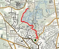 wilson park to carolina forest via owasa corridor loop
