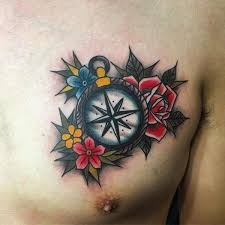 tattoo pictures color 110 best compass tattoo designs wild tattoo art