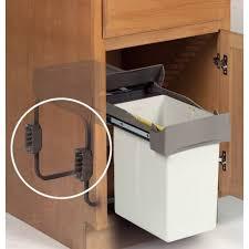 fixation cuisine support poubelle coulissante fixation latérale acessoires de cuisine