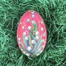 metal easter egg tins