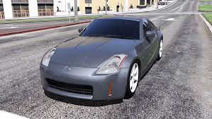 nissan coupe 350z 2003 nissan 350z add on replace tuning template gta5