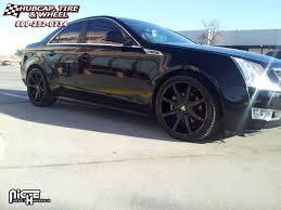 2004 cadillac cts wheels cadillac cts dub push s110 wheels gloss black