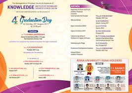 Invitation Card For Graduation Day Kbss