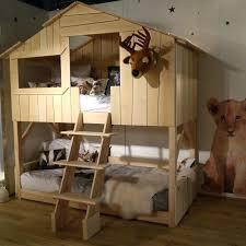 chambre bebe original chambre enfant original lit superpos original pour chambre cabane