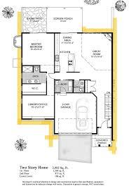 14 beautiful 2 bedroom bath single story house plans 6 condo floor