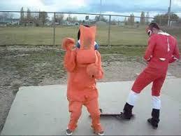 Gumby Halloween Costume Halloween Costume Skateboarding Montage