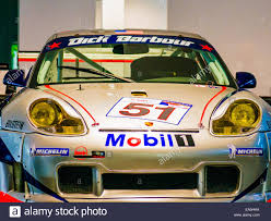 porsche 911 front view porsche 911 gt3 r barbour racing front view stock photo