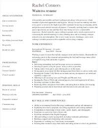 Waitress Resume Template by Cocktail Server Resume Cover Letter Cocktail Server Resume Skills