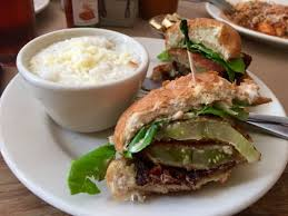 Fried Green Tomato BLT Picture of Hominy Grill Charleston