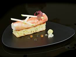 le monde de la cuisine king crab potato waffle lemon caviar le monde de la mer