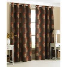 Orange And Brown Curtains Amazing Brown And Burnt Orange Curtains Ideas With Burnt Orange