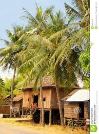 superb stilt plan 3 stilt houses small village near kratie