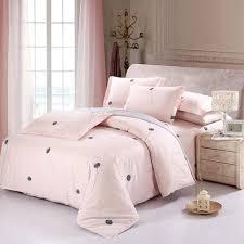 100 cotton solid bedding set king size luxury duvet cover set 16