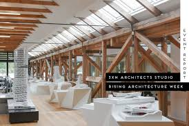 Studio Gate Leg Table 3xn Architects Studio Tour Set In A Historic Canon Boathouse In