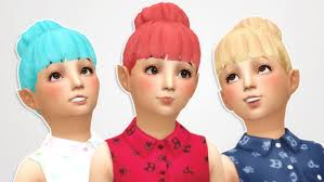childs hairstyles sims 4 sims 4 child hair tumblr