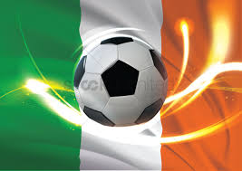 ireland flag with soccer ball vector image 1741147 stockunlimited