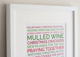 personalized christmas gifts create a personalized poster christmas gift