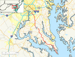 Show Me A Map Of Maryland Maryland Route 5 Wikipedia