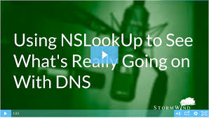 Dns Nslookup How To Find by Using Nslookup To See What U0027s Really Going On With Dns