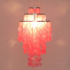 Mother Of Pearl Pendant Light by Funy Mother Of Pearl Pendant Light In White Or Pink Pendant