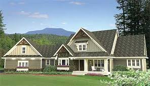 craftsman home plan craftsman home plan with angled 4 car garage 14605rk