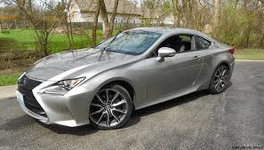 lexus rc 350 spoiler 2017 lexus rc350 rwd road test review by ken u201chawkeye u201d glassman
