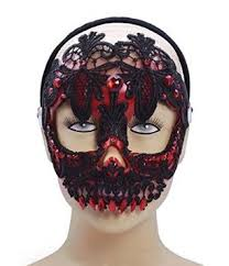 mardi gras skull mask buy sugar skull black mardi gras venetian masked