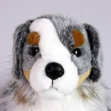 australian shepherd nose australian shepherd stuffed toy for seniors and people with