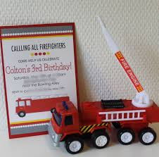 fire truck invitations make it cozee may 2013