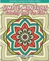 big deal easy mandala coloring book mandala coloring kids