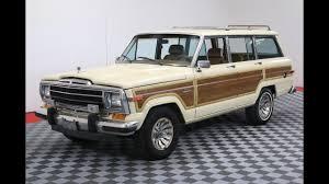 1970 jeep wagoneer 1986 jeep grand wagoneer youtube