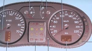renault clio mk2 dashboard warning lights u0026 symbols youtube