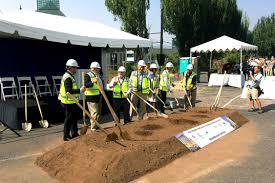 Oregon Convention Center Map by Construction Underway After Hyatt Regency Portland Groundbreaking
