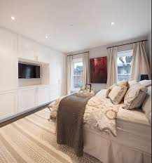 Bedroom With Tv Bedroom Built In Cabinets Design Ideas