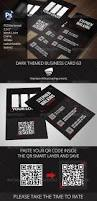 Print Business Cards Photoshop 117 Best Business Cards Psd With Qr Code Images On Pinterest Qr