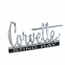 stingray corvette logo c2 corvette stingray 1966 1967 front rear emblem corvette mods