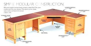 Desk Plans Diy Corner Desk Building Plans Computer Desk Plans Corner Desk Plans