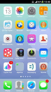 ios launcher apk basic android layout with some exles of common launch icons