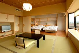 bedroom cozy tatami bed with white royal velvet sheets and small