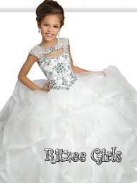pageant dresses for ritzee 7247 organza pageant gown pageantdesigns