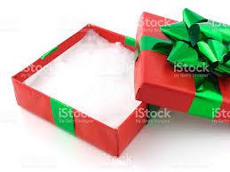 empty christmas gift box stock photo 157197512 istock