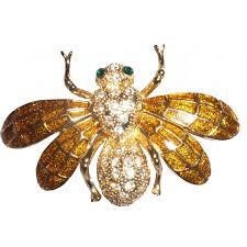 bug brooch vintage gold insect brooch brooch style vintage