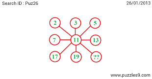 find the missing number puzzle puz26