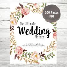 wedding planner guide printable wedding planner diy wedding planner diy wedding guide