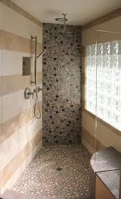 river rock bathroom ideas 55 best pebble tile shower floor small bathroom images on
