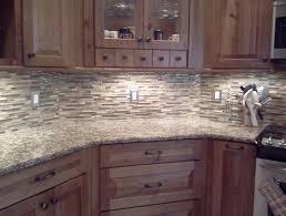 Glass And Stone Tile Backsplash Wall  Cabinet Hardware Room - Backsplash stone