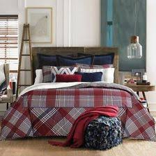 plaid duvet covers and bedding set ebay