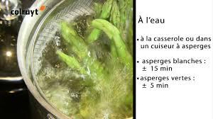 comment cuisiner des asperges blanches comment préparer les asperges colruyt